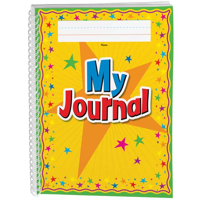 Spiral Draw and Write Journals (Star Cover) - Set of 6