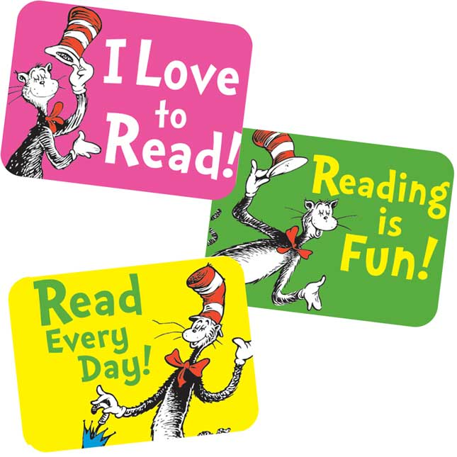 Dr. Seuss™ Cat In The Hat Reading Success Stickers