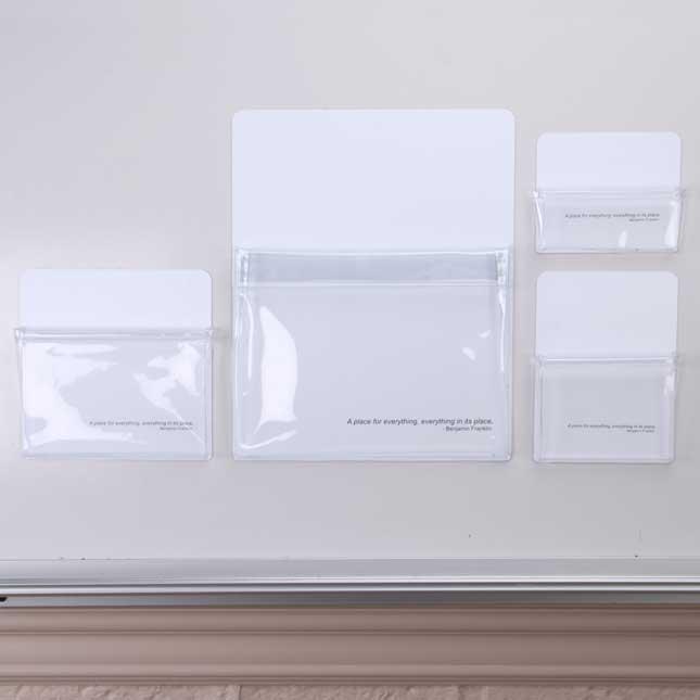 Magnetic Storage Pockets - Set Of 4