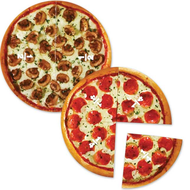 Magnetic Pizza Fractions
