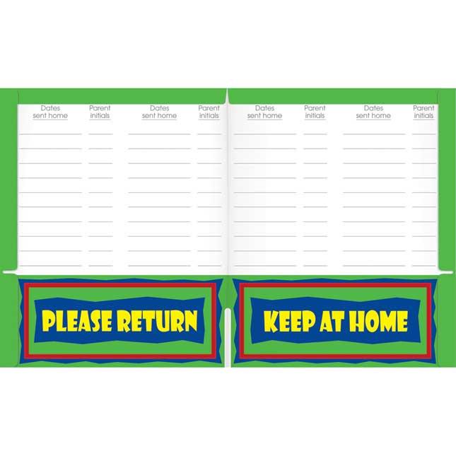Once-A-Week Take-Home Folders
