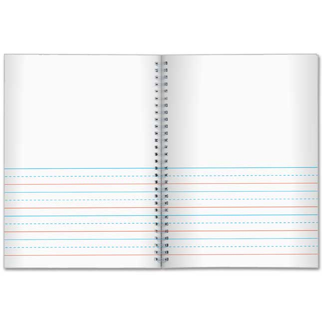 Deluxe Spiral Draw And Write Journals (Pencil Cover)- Pre-K - K