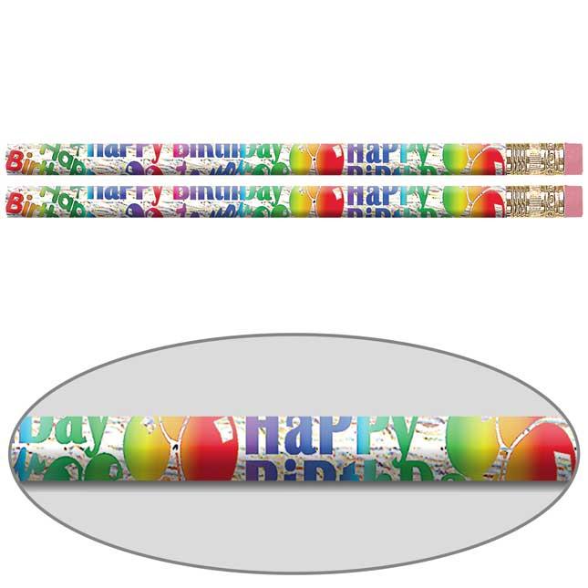 Jumbo Birthday Blitz Pencils