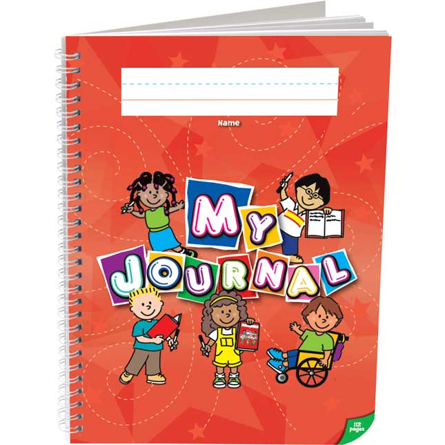 Deluxe Spiral Draw And Write Journals (Kids Cover) - Set Of 6 - K-2