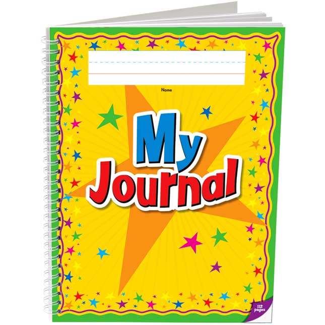 Deluxe Spiral Draw and Write Journals (Star Cover) -K-2 - Set of 6