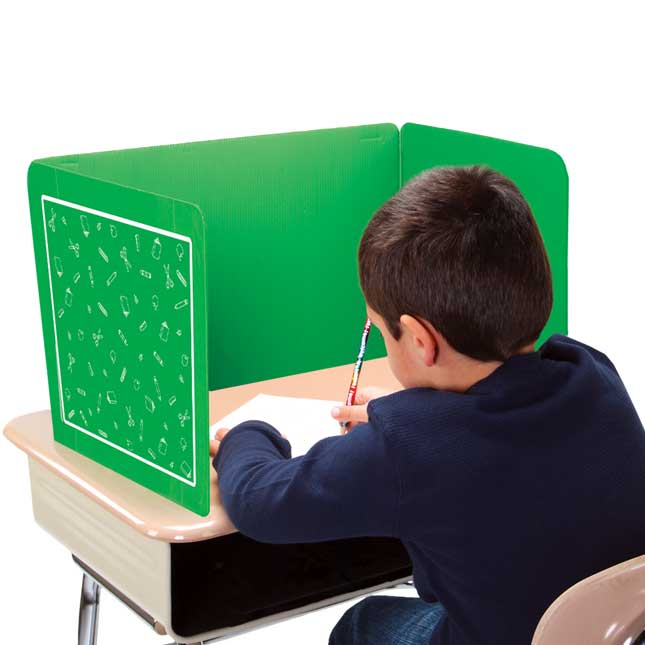 Deluxe Privacy Shields  Junior - Set of 6