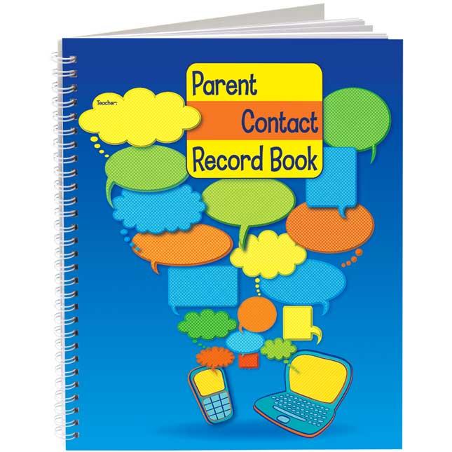 Parent Contact Record Book