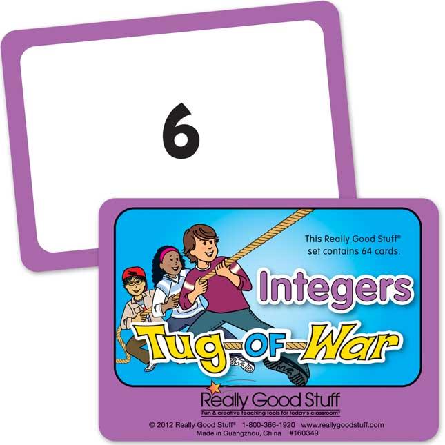 Really Good Tug-Of-War - Integers