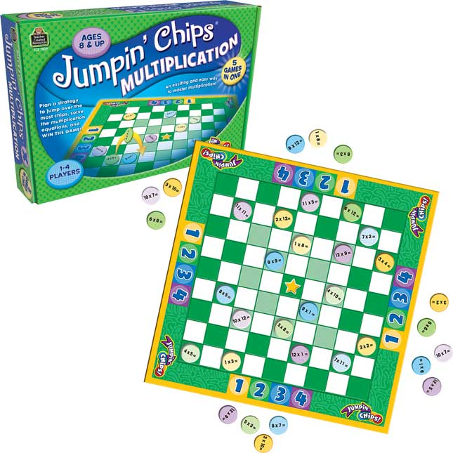 Jumpin' Chips!® Multiplication Game