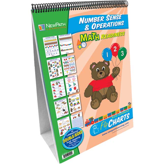 Math Readiness Number Sense and Operations Flip Chart