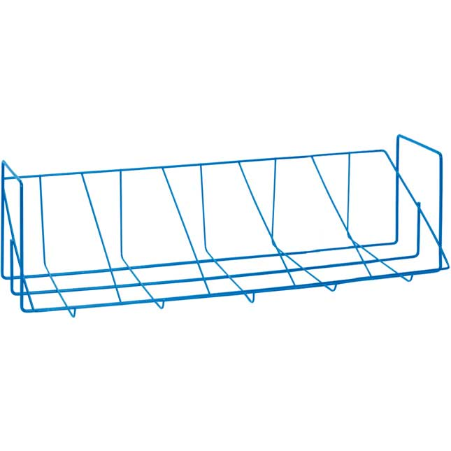 Store More® Book And Binder Holder 5-Bin Rack