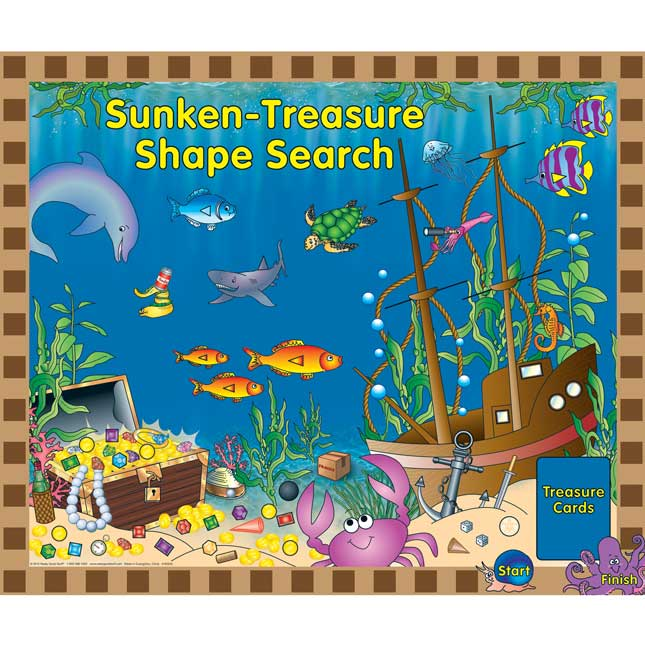 Numeracy Center-In-A-Bag™: Sunken-Treasure Shape Search