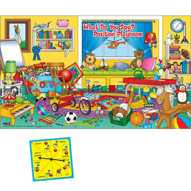 Numeracy Center-In-A-Bag™: What Do You Spy? Position Playroom