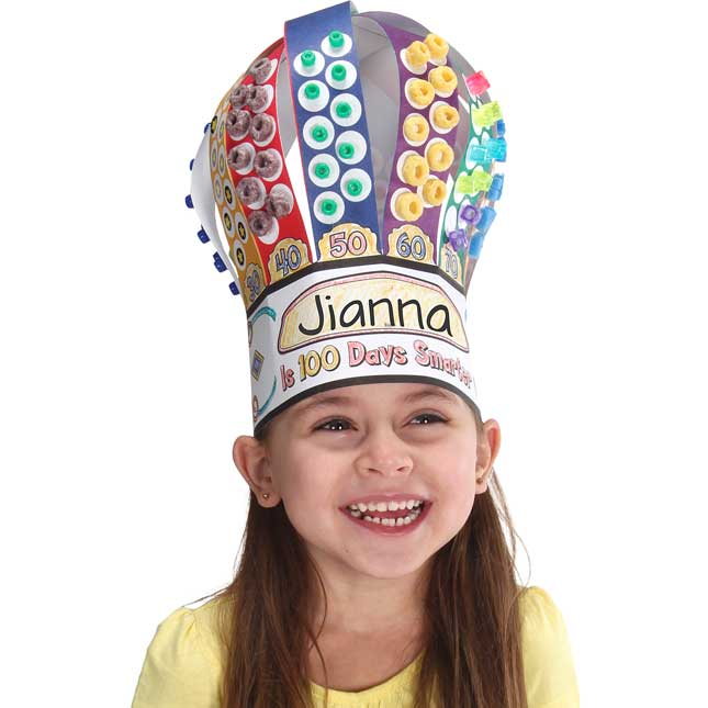 100th Day Counting Crowns