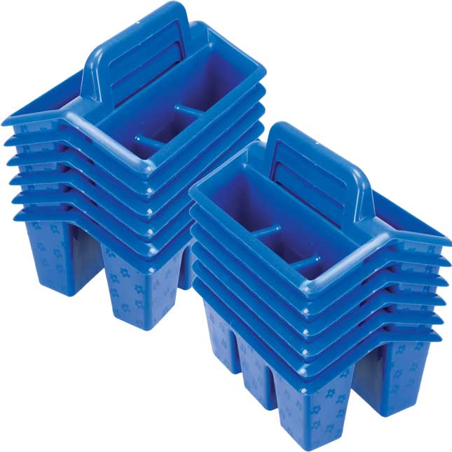 Four-Compartment Caddies - 144 Pack