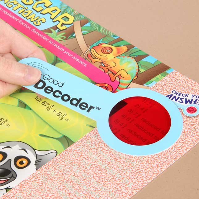 Skill Stretchers With Decoders™ Grade 4 Math - Set 1