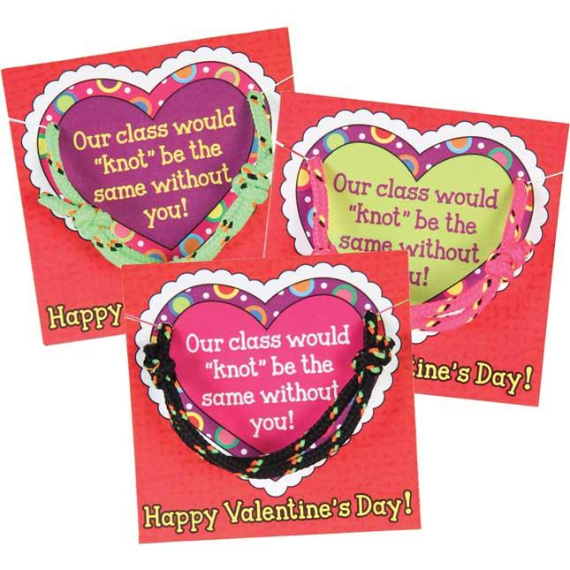 Valentine's Day Friendship Card and Bracelet