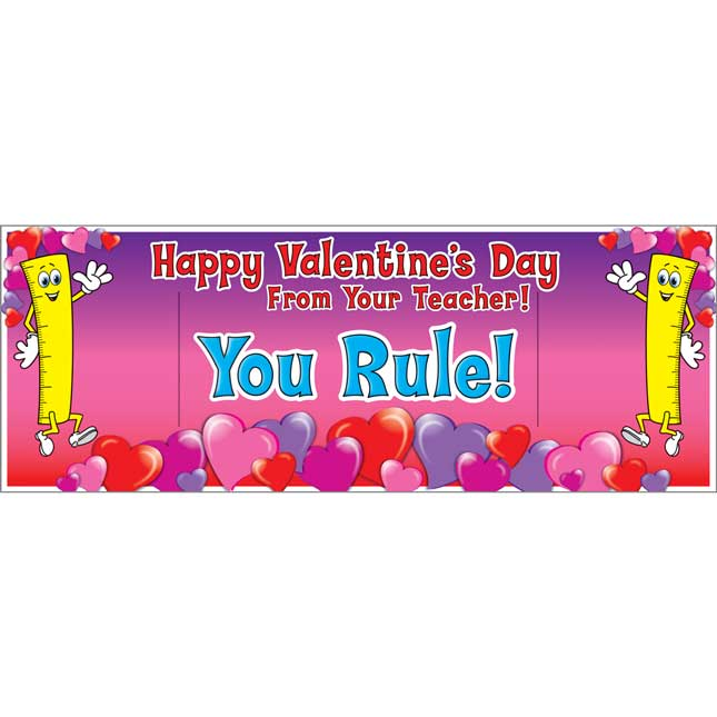 You Rule! Valentine's Day Cards And Rulers