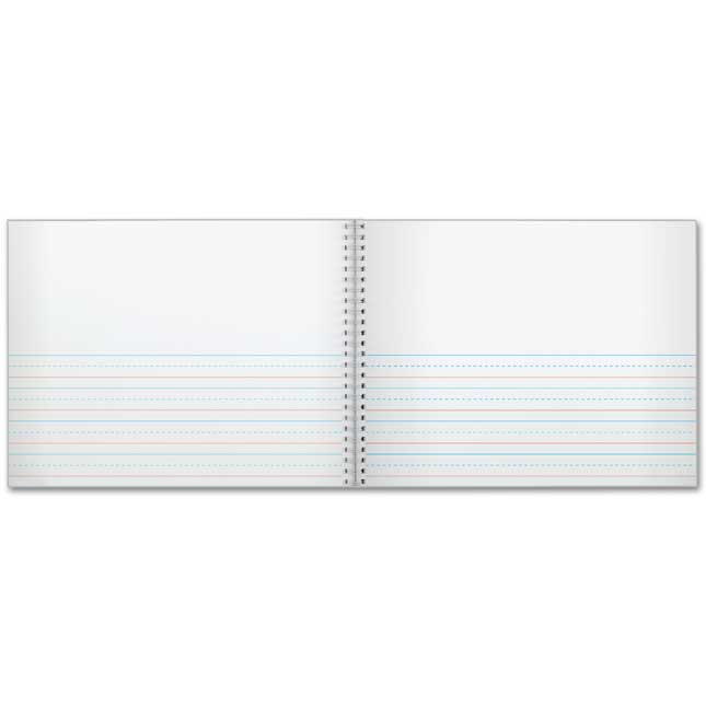 Spiral Landscape Draw And Write Journals (Forest Friends) - 56 Pages