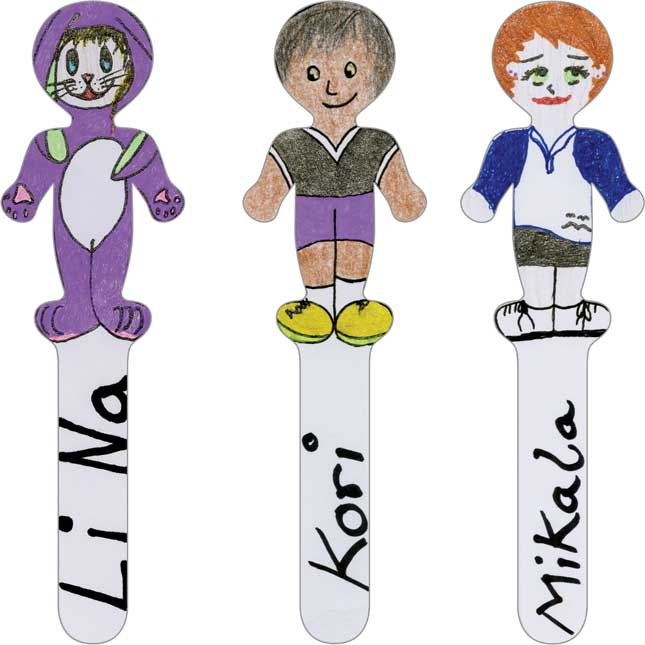 Ready-To-Decorate® Pick A Student Sticks