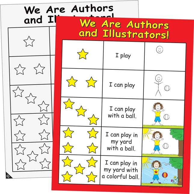 We Are Authors And Illustrators 2-Sided Poster