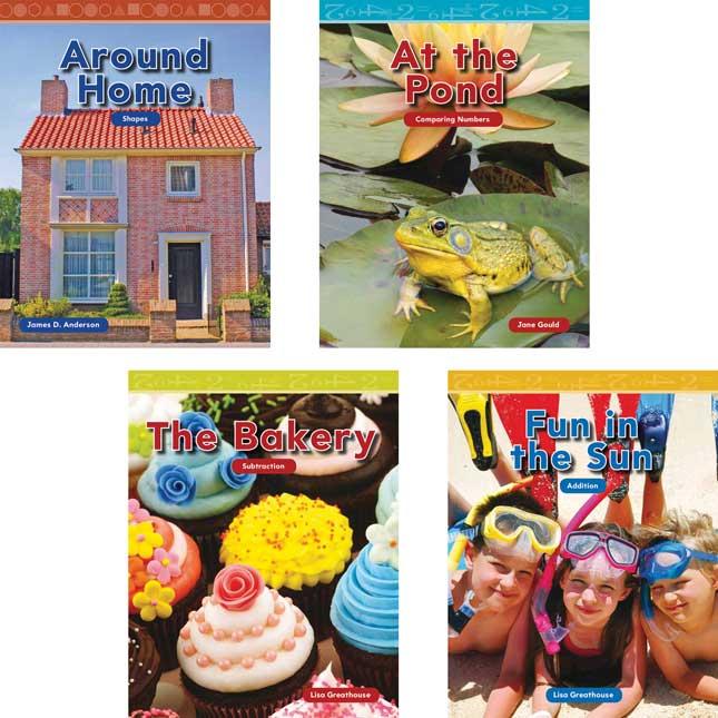 Kindergarten Mathematics - 8-Book Set - Set 1