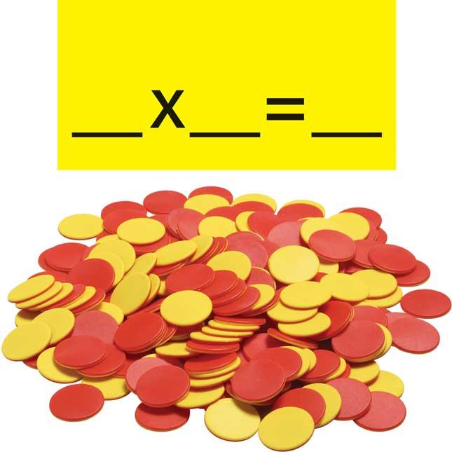 Multiplication Array Space-Saver Pocket Chart™