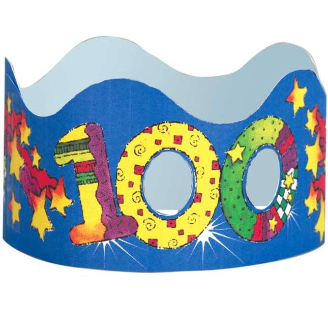100th Day Glasses And Crowns Kit