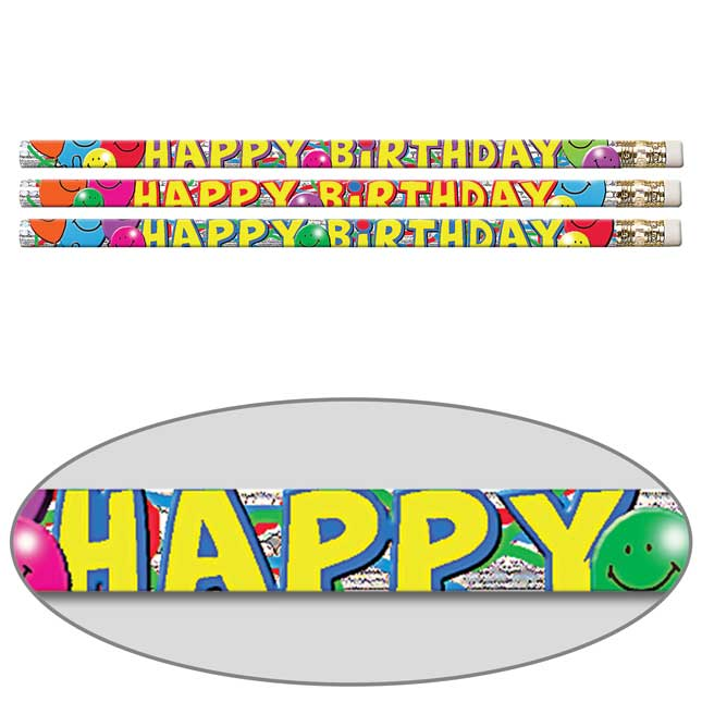 Birthday Bash Pencils