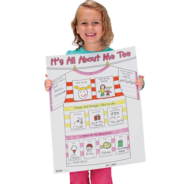 Ready-To-Decorate® All About Me Tee Posters