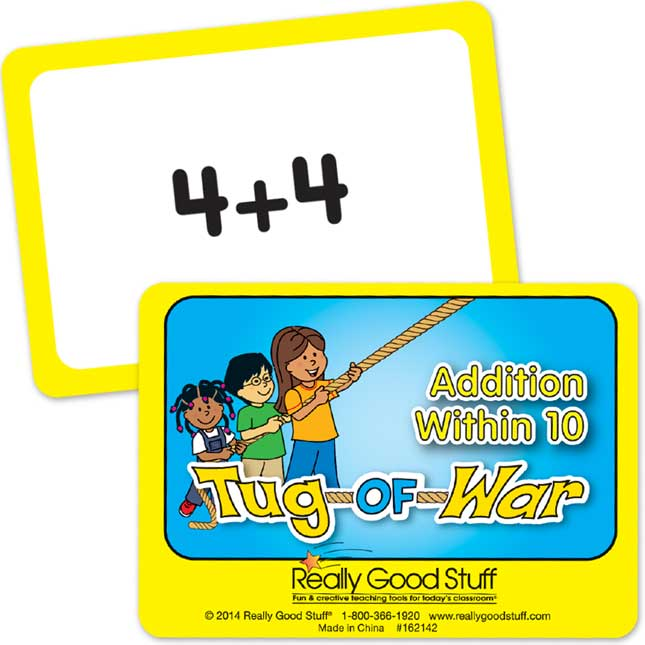 Really Good Tug Of War - Addition Within 10