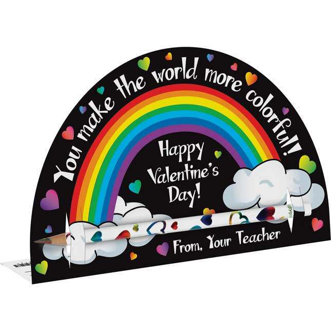 You Make The World More Colorful Pencil Holders And Pencils
