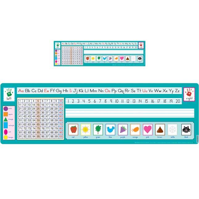 100 Grid Self-Adhesive Deluxe Plastic Desktop Helpers and Desktop Helper Banner - Zaner-Bloser