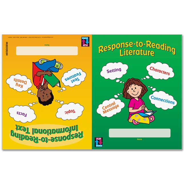Really Good Response-To-Reading Flip Journals™ - Primary