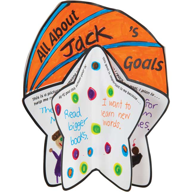 Ready-To-Decorate® 3-D Goal Star Bulletin Board Kit