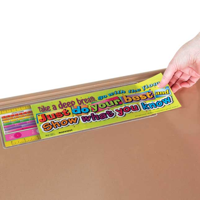 Zaner-Bloser First Grade Two-Sided Cardstock Desktop Helpers - Set of 12