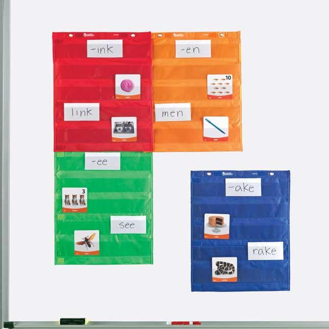 Group Organizing Pocket Charts