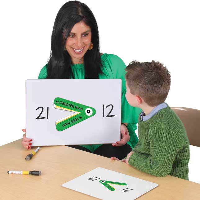 Greater Than Or Less Than Student And Teacher Manipulatives Kit