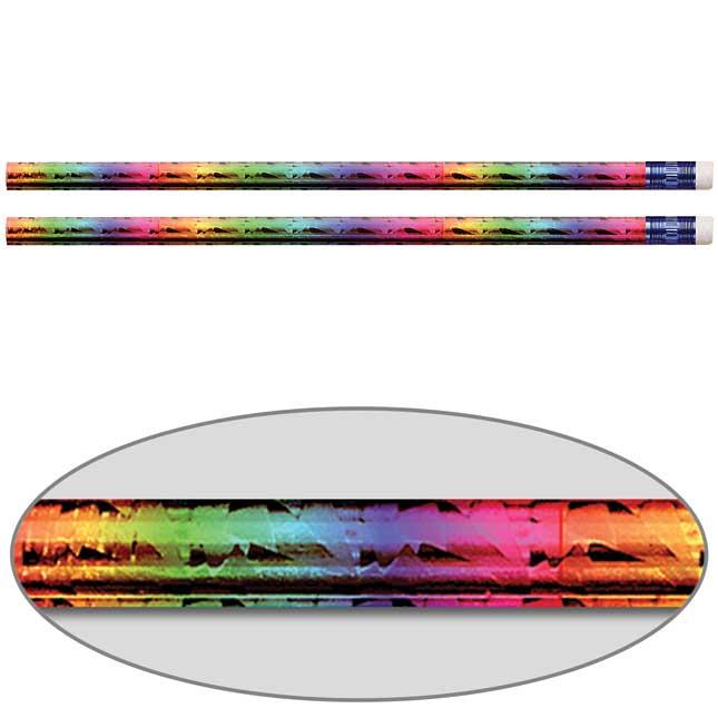 Rainbow Prism Pencils