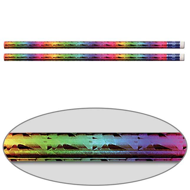 Rainbow Prism Pencils - Set Of 144