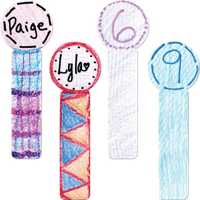 Ready-To-Decorate® Student Sticks - Large