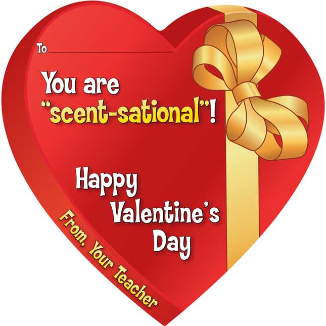 """You Are """"Scent-sational""""! Valentine Cards And Pencils Kit"""