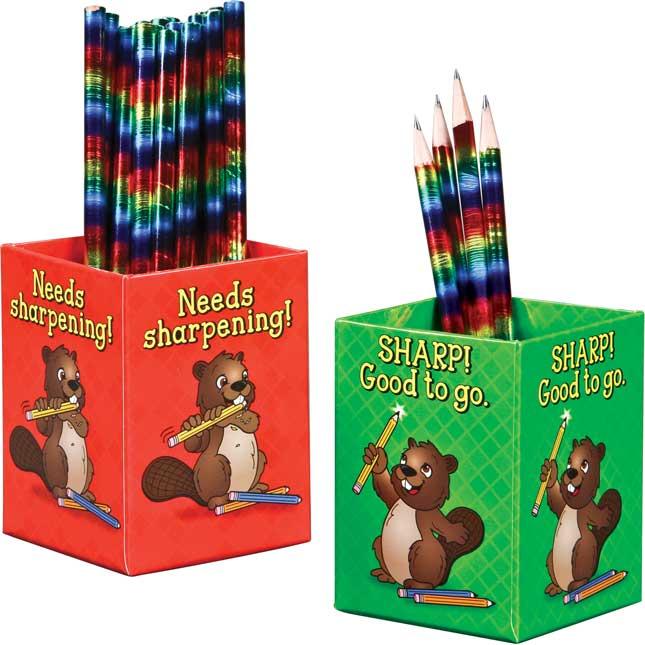 Sharp! And Needs Sharpening! Pencil Organizers