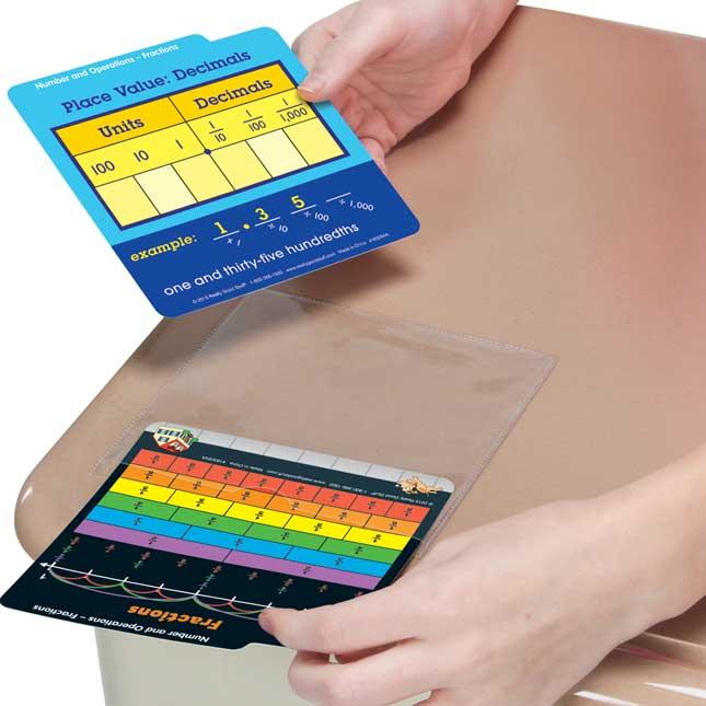 Desktop Buddies™ With Sleeves - Math Grade 4