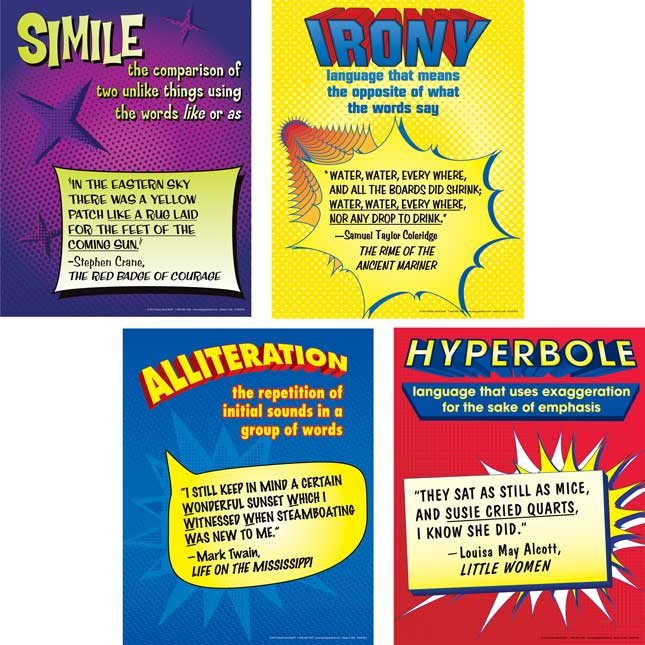 Figurative Language Journals And Posters Kit