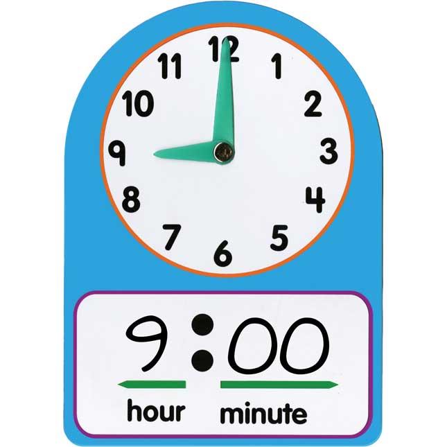 Telling Time Practice Clocks