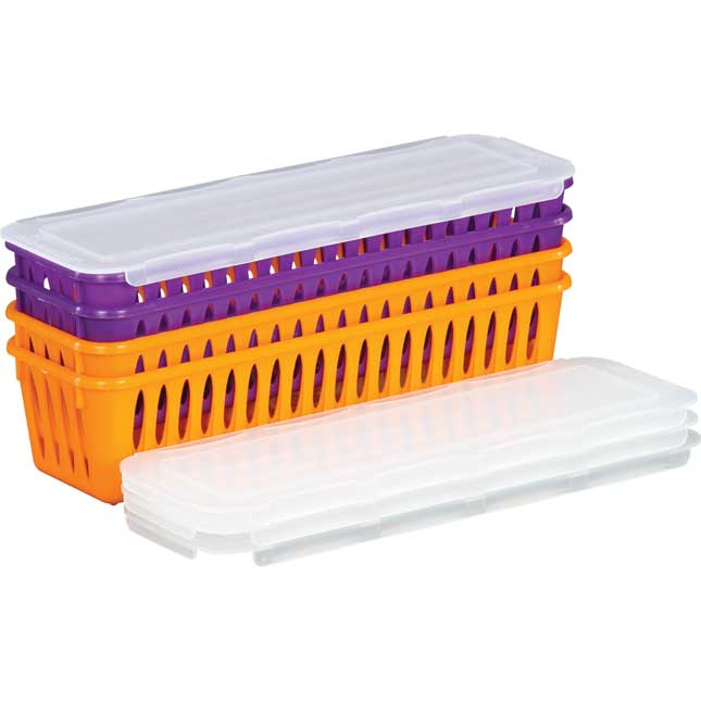 Group Colors Expansion Pack - Pencil And Marker Baskets With Lids