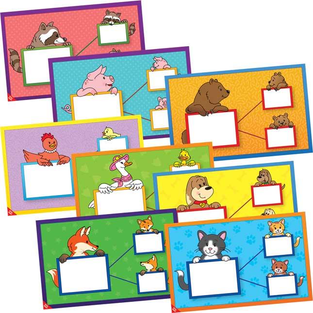 Number Bonds Work Mats Set™ - Animals