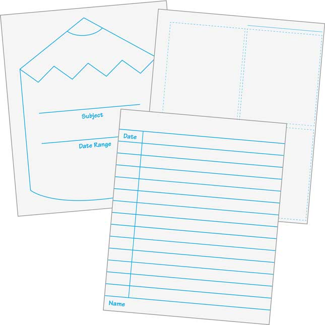 Assessment Recording Refill Kit