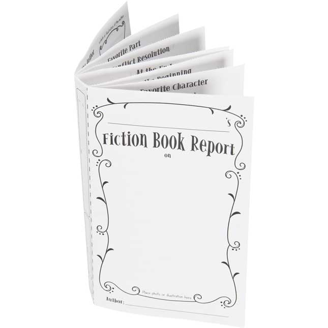 Ready-To-Decorate® 3-D Fiction Report Bulletin Board Kit